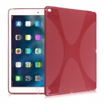 Schutzhülle Silikon XLine Rot für New Apple iPad 9.7 2017 Tasche Case Etui Neu