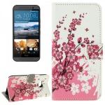Schutzhülle Muster 6 für HTC One 3 M9 2015 Tasche Cover Case Hülle Etui Schutz