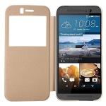 Smartcover Window Weiß für HTC One 3 M9 Tasche Cover Case Hülle Etui Zubehör Neu