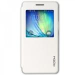 Original ROCK Window Smartcover Weiss für Samsung Galaxy A7 A700 A700F Cover Neu