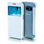 Smartcover Window Weiß für Samsung Galaxy S7 Edge G935F Tasche Cover Hülle Case