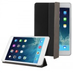 Smartcover Schwarz Tasche für Apple iPad Mini und Retina Hülle + Folie Touchpen