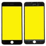 Display Glas für Apple iPhone 8 Plus 5.5 LCD Displayglas Rahmen OCA Kleber Black