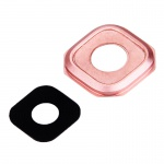 Für Samsung Galaxy A5 2016 Kamera Ersatz Gehäuse Dichtung Kameraglas Rosa Pink