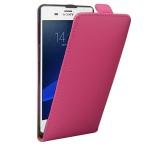 Fliptasche Deluxe Pink für Sony Xperia Z3 Plus + E6553 Dual Tasche Case Hülle