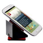 Wireless Ladestation Dock Station für viele Samsung Galaxy QI Ladegerät Schwarz