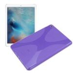 Schutzhülle Silikon X-Line Lila Hülle für Apple iPad Mini 4 7.9 Tasche Case Neu