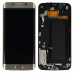 Display LCD Ersatz Gold GH97-17819A für Samsung Galaxy S6 Edge Plus G928F Neu