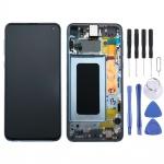 Samsung Display LCD Komplettset GH82-18852C Blau für Galaxy S10e 5.8 Zoll G970F