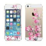 0, 3 mm dünne H9 Hartglas Folie für Apple iPhone 5S 5 5C mit Muster Design NEU