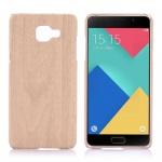 Hardcase Holz-Optik Hell Hülle für Samsung Galaxy A5 2016 A510F Case Tasche Neu