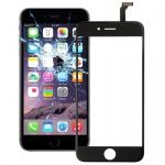Touchscreen Display Glas für Reparatur Apple iPhone 6 4.7 Flex Kabel Schwarz Neu