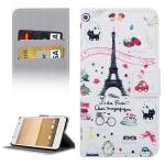 Schutzhülle Muster 35 für HTC One A9 Tasche Book Cover Case Hülle Etui Schutz