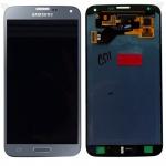 Display LCD Komplettset GH97-17787C Silber für Samsung Galaxy S5 Neo G903F Neu