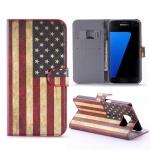 Schutzhülle Muster 10 für Samsung Galaxy S7 Plus Tasche Cover Case Hülle Etui