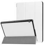 Smartcover Weiß Cover Tasche für Huawei MediaPad T3 10 Hülle Etui Case Zubehör