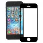 Displayglas Glas Schwarz für Apple iPhone SE Zubehör + Werkzeug Opening Tool Neu