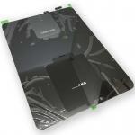Samsung GH82-13895A Akkudeckel Deckel für Galaxy Tab S3 SM-T820 Klebepad Schwarz