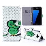 Schutzhülle Muster 31 für Samsung Galaxy S7 Plus Tasche Cover Case Hülle Etui