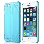Original Baseus Cross Style Hardcase Blau für Apple iPhone 6 4.7 Hülle Case Neu