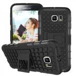 Hybrid Case 2 teilig Robot Schwarz für Samsung Galaxy S6 G920 G920F Hülle Case