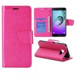 Schutzhülle Pink für Samsung Galaxy A5 2016 A510F Tasche Hülle Wallet Case Book
