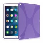 Schutzhülle Silikon XLine Lila für New Apple iPad 9.7 2017 Tasche Case Etui Neu