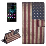 Schutzhülle Muster 10 für Wiko Ridge 4G Bookcover Tasche Hülle Wallet Case Flip