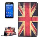 Schutzhülle Muster 9 für Sony Xperia E4G Bookcover Tasche Hülle Wallet Case