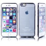 Premium TPU Schutzhülle Schwarz für Apple iPhone 6 6S Plus 5.5 Case Cover Tasche