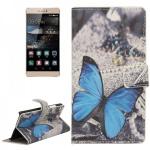 Schutzhülle Muster 41 für Huawei Ascend P8 Bookcover Tasche Hülle Wallet Case