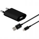 USB Ladegerät 1A Datenkabel Ladekabel Stecker für Apple iPhone 6S 6 5S SE iPod