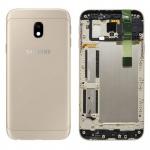 Samsung GH82-14891C Akkudeckel Deckel für Galaxy J3 J330F 2017 Gold Gehäuse Neu