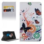 Schutzhülle Muster 2 für Huawei G8 5.5 Zoll Bookcover Tasche Case Hülle Wallet