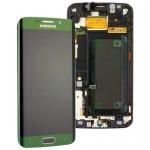 Display LCD Komplettset GH97-17162E Grün für Samsung Galaxy S6 Edge G925F Neu
