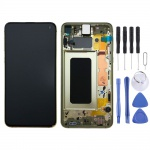 Samsung Display LCD Komplettset GH82-18852G Gelb für Galaxy S10e 5.8 Zoll G970F