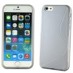 Silikoncase S-Line Design Case Weiss Hülle Cover Zubehör für Apple iPhone 6 4.7