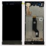Sony Display LCD Komplett mit Rahmen für Xperia XA1 und Dual Schwarz Ersatz Neu