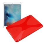 Schutzhülle Silikon X-Line Rot Hülle für Apple iPad Mini 4 7.9 Tasche Case Neu