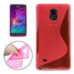 Design Hülle Schutz TPU für Samsung Galaxy Note 4 SM N910 N910F Cover Motiv 4