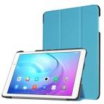 Smartcover Hell Blau für Huawei MediaPad T2 10.0 Pro Hülle Case Tasche Schutz