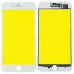 Display Glas für Apple iPhone 8 Plus 5.5 LCD Displayglas Rahmen OCA Kleber Weiß