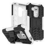 Hybrid Case 2teilig Outdoor Weiß für Huawei Nova Plus Tasche Hülle Cover Schutz