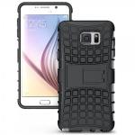 Hybrid Hülle 2 teilig Outdoor Schwarz Tasche für Samsung Galaxy Note 5 SM-N920 F