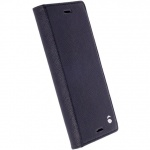 Krusell FolioCase Malmö Tasche Hülle für Sony Xperia X Schutzhülle Cover Schwarz