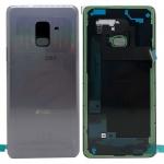 Samsung GH82-15557B Akkudeckel Deckel für Galaxy A8 A530F 2018 Klebepad Lila Neu