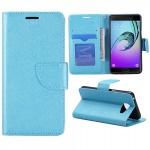 Schutzhülle Blau für Samsung Galaxy A5 2016 A510F Tasche Hülle Wallet Case Book