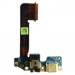 Ladebuchse Dock Flexkabel für HTC One M9 + Mikrofon
