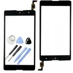 Reparatur Displayglas Touch Screen für Wiko Robby LCD Glas Reparatur Schwarz Neu