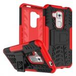 Hybrid Case 2teilig Outdoor Rot für Huawei Nova Plus Tasche Hülle Cover Schutz